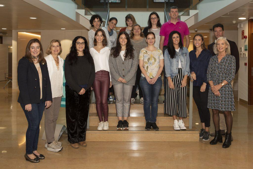 Fotografia de grup de la 2a edició del Programa Dermoexpert.