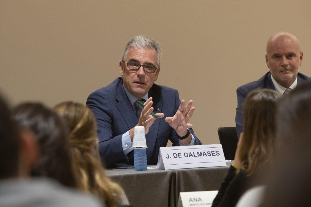 Jordi De Dalmases, president del COFB, durant la inauguració de la XIV edició.