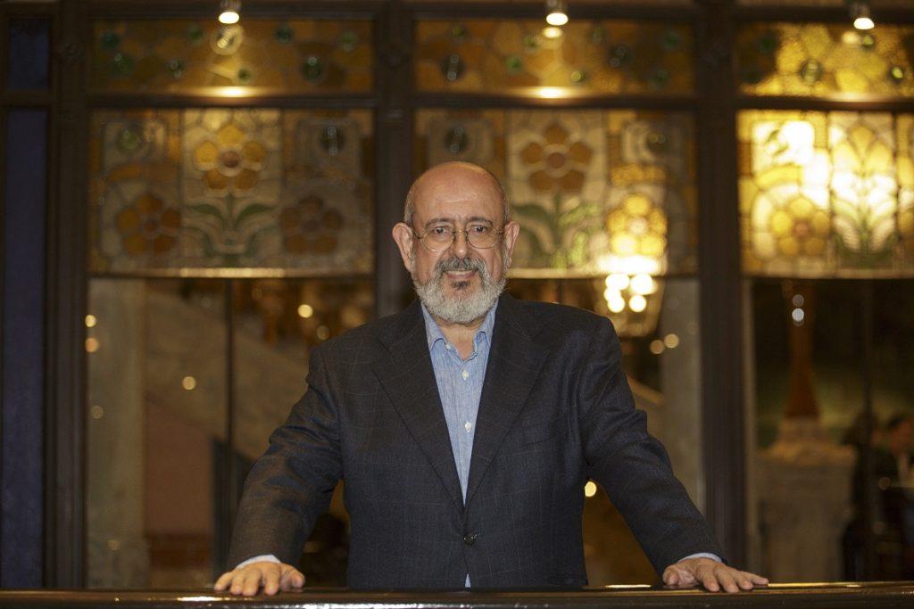 Àngel García, homenatjat pels seus 25 anys de col·legiació.