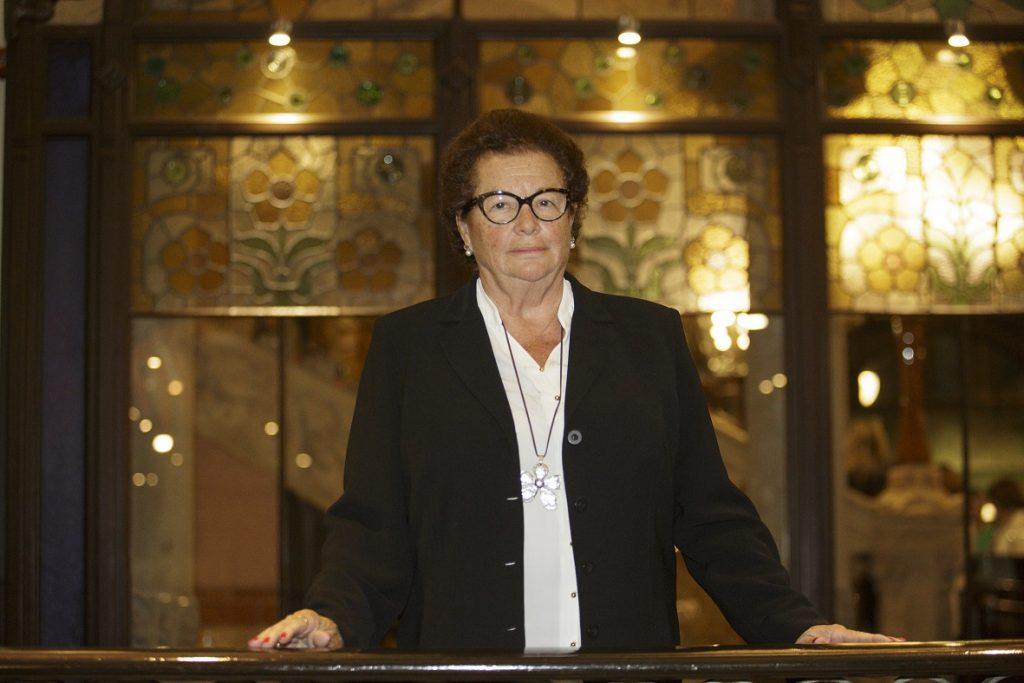 María del Carmen Torrents, homenatjada pels seus 50 anys de col·legiació.