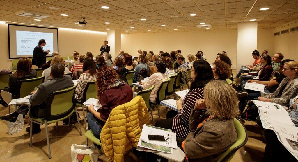 """Un moment del curs """"Actualització en Psoriasi"""" celebrat el passat 24 d'octubre al COFB."""