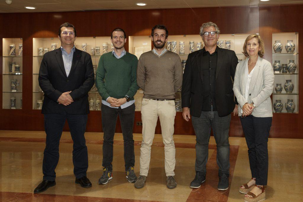 Carlos Torrecilla, Victor Ronda, Carlos Delso, Pau Virgili i Núria Bosch.