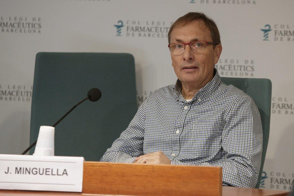 Jordi Minguella, representant de l'Associació Superar l'ictus de Barcelona.