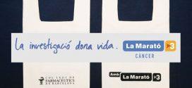 El Col·legi, implicat en La Marató 2018 per recaptar fons per a la investigació del càncer