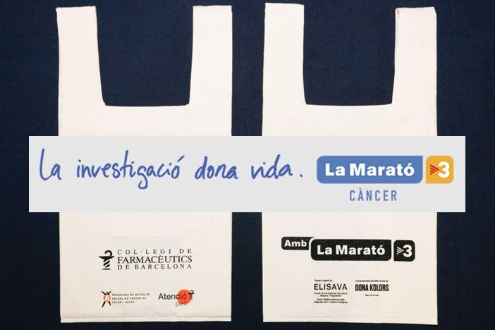 Les bosses solidàries i exclusives creades per recaptar fons per La Marató 2018 de TV3 entre els col·legiats del COFB.