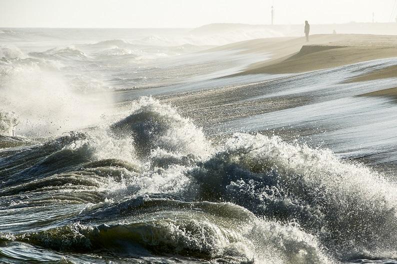 Tempestat de Llevant, de Marina Arimany. Guanyadora del III Concurs de Fotografia del COFB (Càmera)