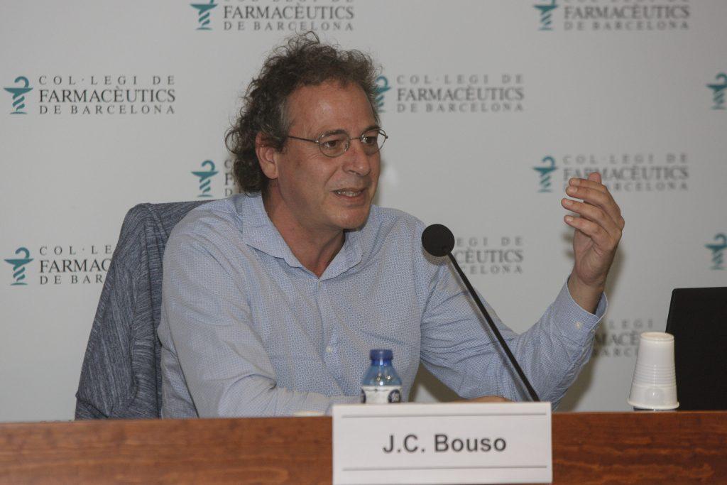 José Carlos Bouso, director científic de l'ICEERS, en un moment de la seva intervenció.