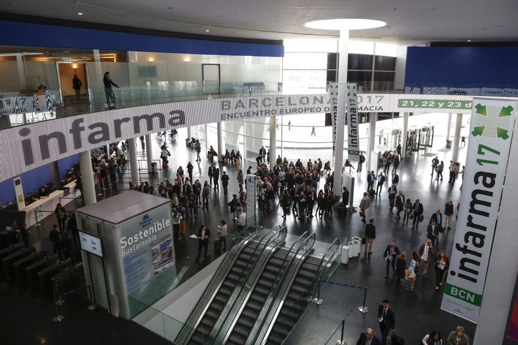 Imatge de l'edició d'Infarma Barcelona 2017.