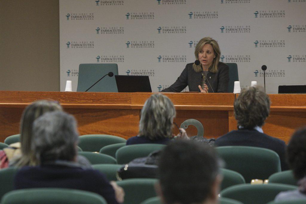 Montserrat Gironès, vocal d'Ortopèdia del COFB.