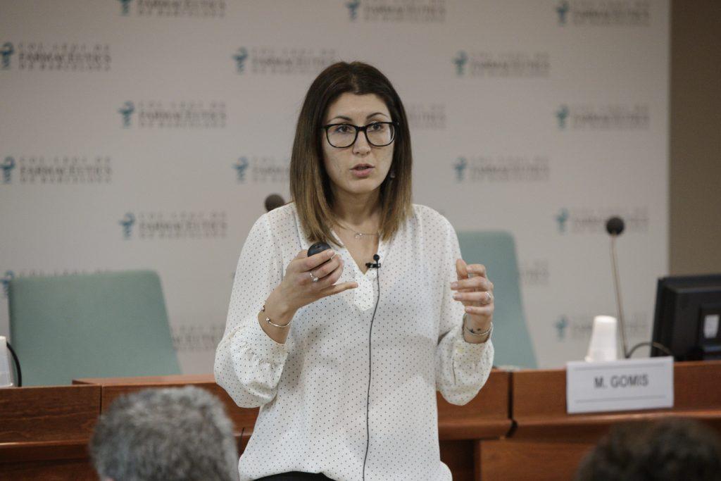 Mar Gomis, farmacèutica especialista adjunta del Servei de Farmàcia de l'Hospital de Sant Pau.