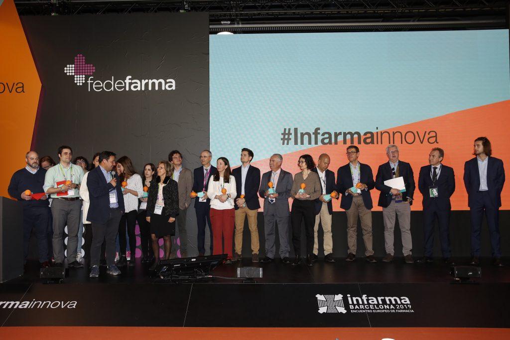 Entrega de premis a les 10 idees finalistes d'#Infarmainnova.