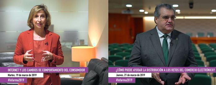 Núria Bosch i Antoni Torres abordaran qüestions relacionades amb internet i el comerç electrònic.