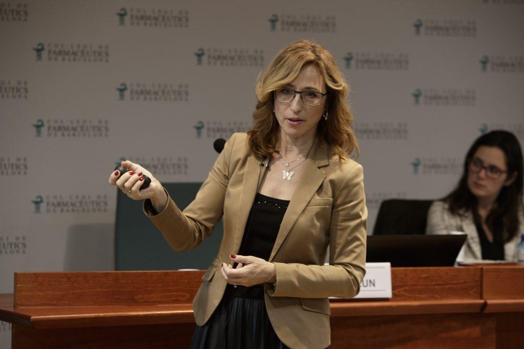 Cristina Biurrun, directora científica de L'Oréal.