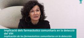 """""""Els farmacèutics són un dels perfils sanitaris essencials en la resposta davant del VIH"""". Entrevista a la Dra. Julia del Amo"""