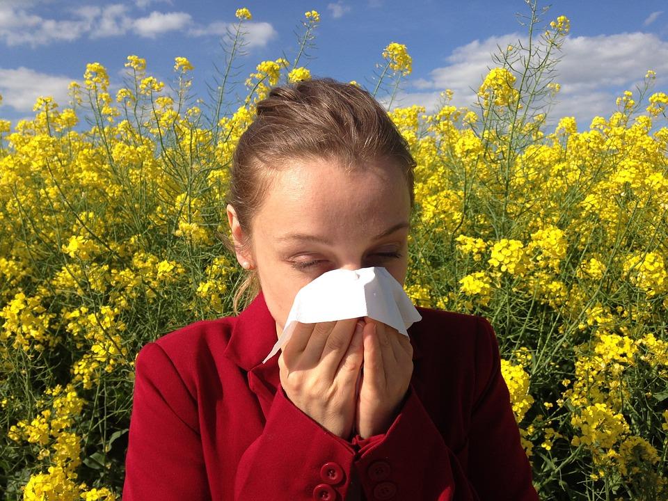 La rinitis al·lèrgica és la reacció al·lèrgica de les membranes de la mucosa nasal quan entren en contacte amb una o més substàncies al·lergògenes.