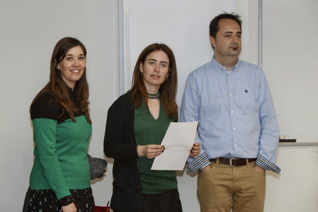 Sílvia Jiménez, Anna Bach-Faig i Francisco Javier Pérez-Cano.