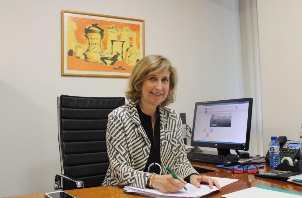 Núria Bosch, vicepresidenta del COFB, representarà a farmacèutiques i farmacèutics a la Cambra de Comerç.