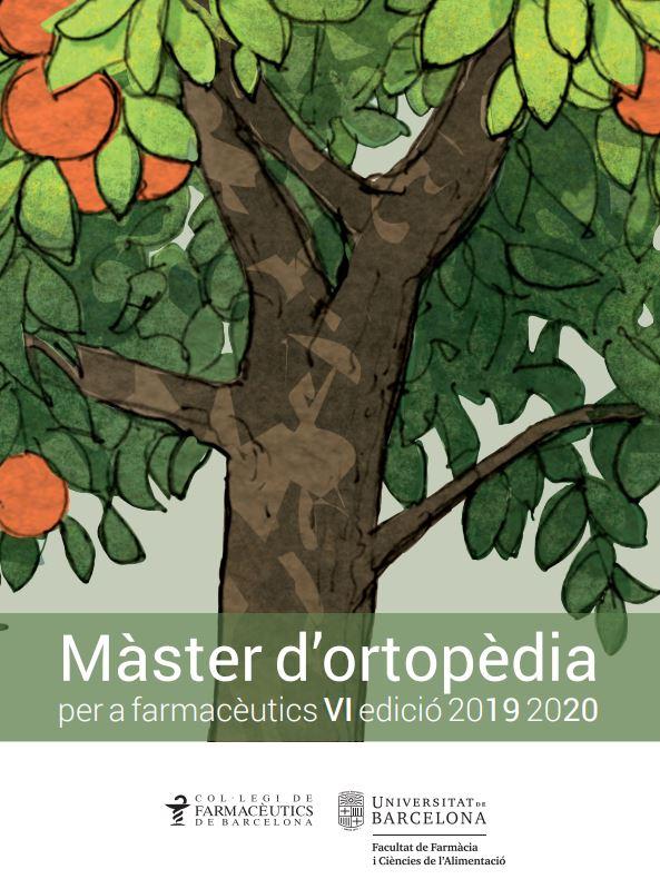 Feu clic a la imatge per consultar el programa complet de la VI edició del Màster d'Ortopèdia per a farmacèutics.