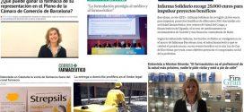 Abril: Infarma, les eleccions a la Cambra de Comerç i la venda de medicaments fora del canal farmàcia, temes més destacats als mitjans