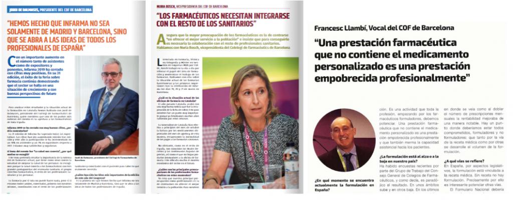 Mitjans: Infarma Barcelona 2019