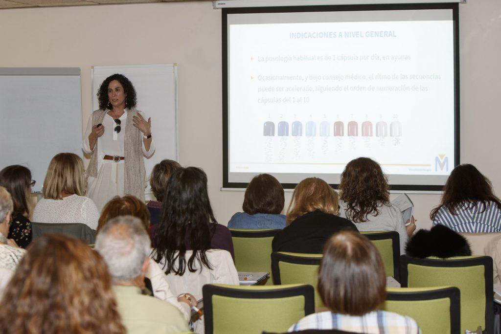 María Luisa García, farmacèutica i formadora d'AEMI.