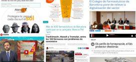 """Juny: la campanya """"Atenció Pell 365"""", la dispensació d'ibuprofèn i paracetamol i la cloenda de la XIV edició del MGOF, temes més destacats als mitjans"""