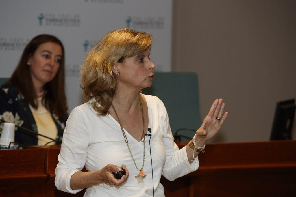 Durant la conferència, la doctora Marta Sandoval va facilitar eines per poder abordar les diferents patologies otorrinolaringològiques.