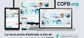 La web COFB.org es renova i es converteix en la nova porta d'entrada digital del Col·legi