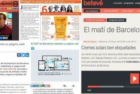 """Juliol: La campanya """"Atenció Pell 365"""" i el redisseny de la web institucional, temes més destacats als mitjans"""