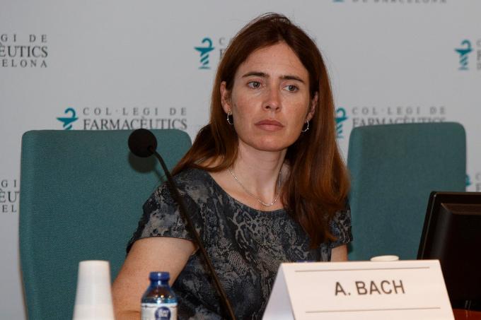 Anna Bach-Faig, vocal d'Alimentació i Nutrició del Col·legi de Farmacèutics de Barcelona.