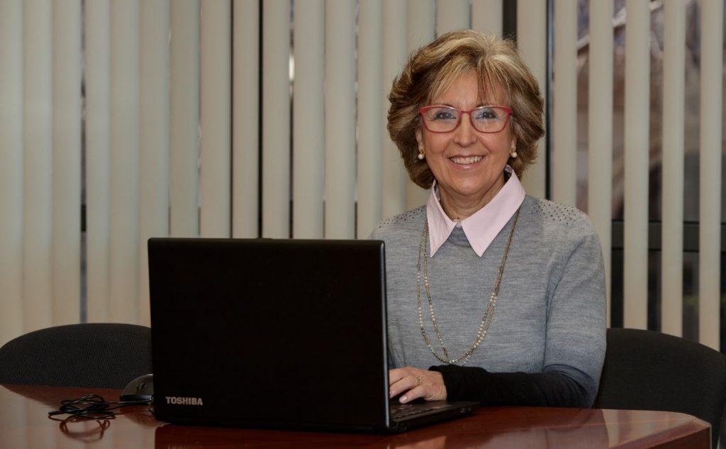 Francisca Aranzana, vocal d'Oficina de Farmàcia del Col·legi de Farmacèutics de Barcelona.