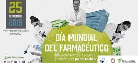 Dia Mundial del Farmacèutic 2019:  El paper dels farmacèutics per garantir la seguretat dels pacients i millorar l'ús dels medicaments
