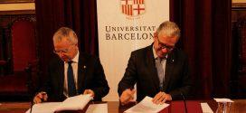 El Col·legi i la Universitat de Barcelona uneixen esforços en l'àmbit acadèmic i de recerca