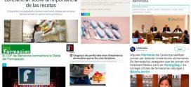 Octubre: Campanya del COFB sobre la importància de la recepta mèdica, activitats formatives i Diada del Farmacèutic, temes més destacats als mitjans
