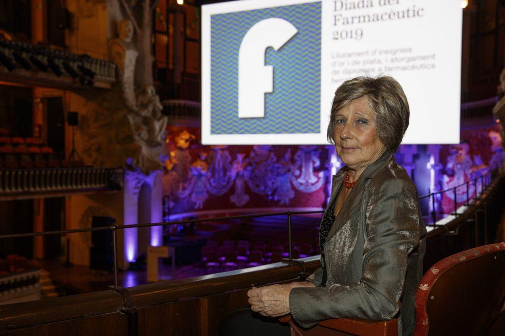 Per Marta Pons, la distinció pels seus 50 anys de col·legiació ha significat una cloenda molt important a la seva trajectòria.