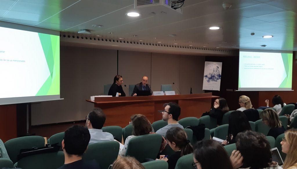 Francesc Llambí, vocal del COFB,, va presentar la jornada i va moderar diverses taules.