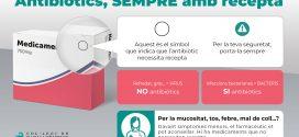 Els antibiòtics, nou objectiu de la campanya sobre la importància de la recepta mèdica