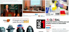 """Desembre: el programa de detecció precoç de càncer de còlon i recte, la campanya """"Atenció Pell 365"""" i les farmàcies sentinella, temes més destacats als mitjans"""