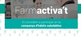 Es presenta Farmactiva't, campanya del COFB per promoure els hàbits saludables entre els col·legiats