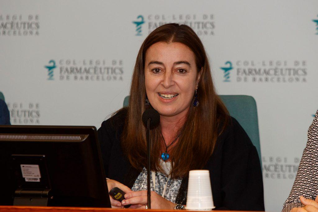 Aina Surroca, farmacèutica comunitària i vocal i responsable de la Comissió de Formació Continuada del Col·legi de Farmacèutics de Barcelona.
