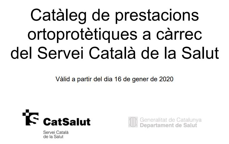 <strong>Fent clic a la imatge pots accedir al nou catàleg</strong> de prestacions ortoprotètiques a càrrec del Servei Català de la Salut publicat a la web del Departament de Salut.