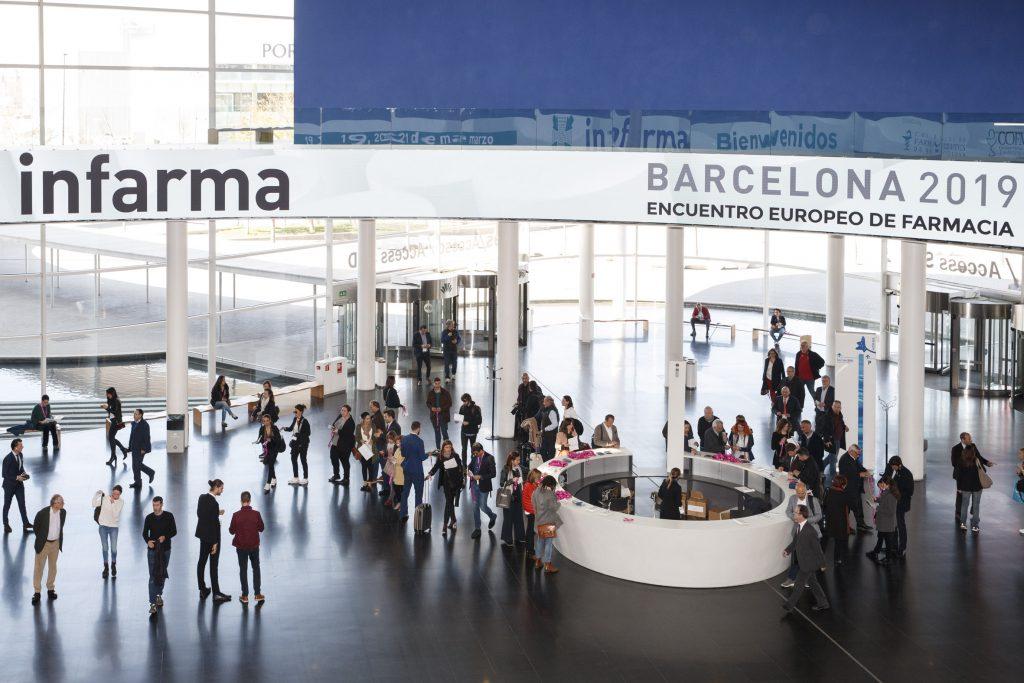 Imatge d'Infarma Barcelona 2019.