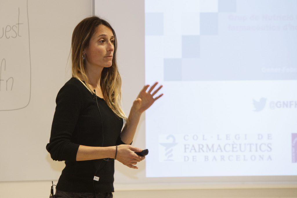 Meritxell Pujals, farmacèutica adjunta de l'Hospital de Mataró, Consorci Sanitari del Maresme.