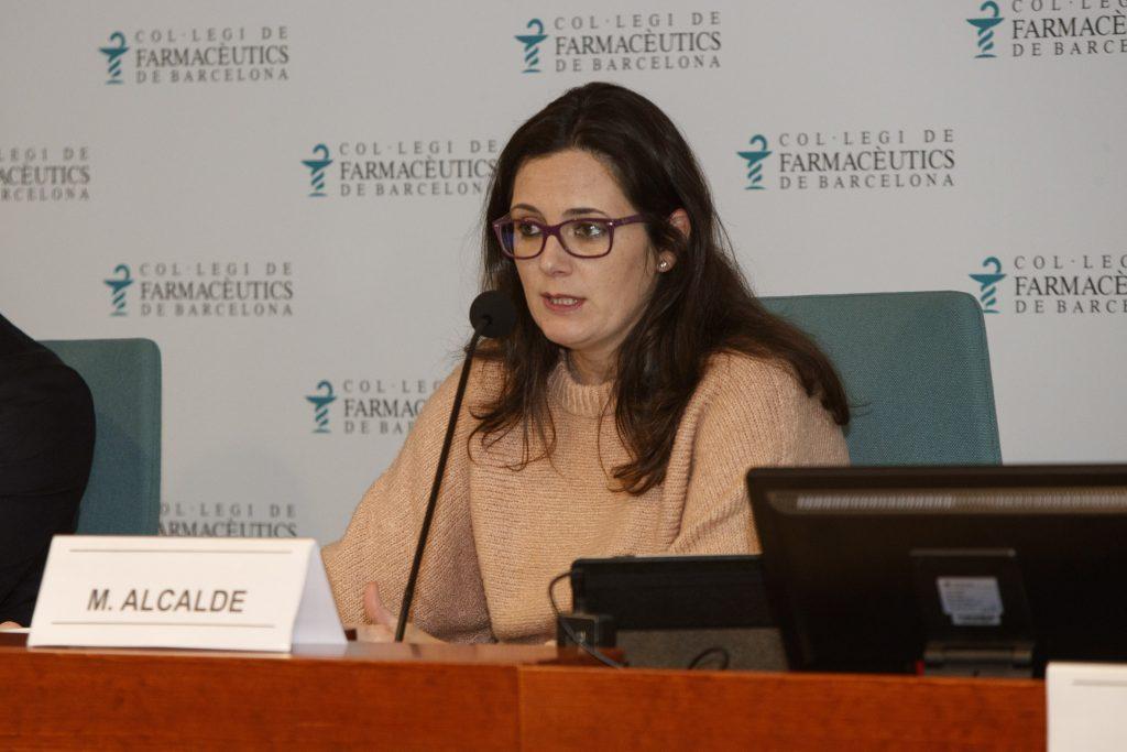 Marta Alcalde, vocal de Dermofarmàcia i Productes Sanitaris del Col·legi de Farmacèutics de Barcelona.