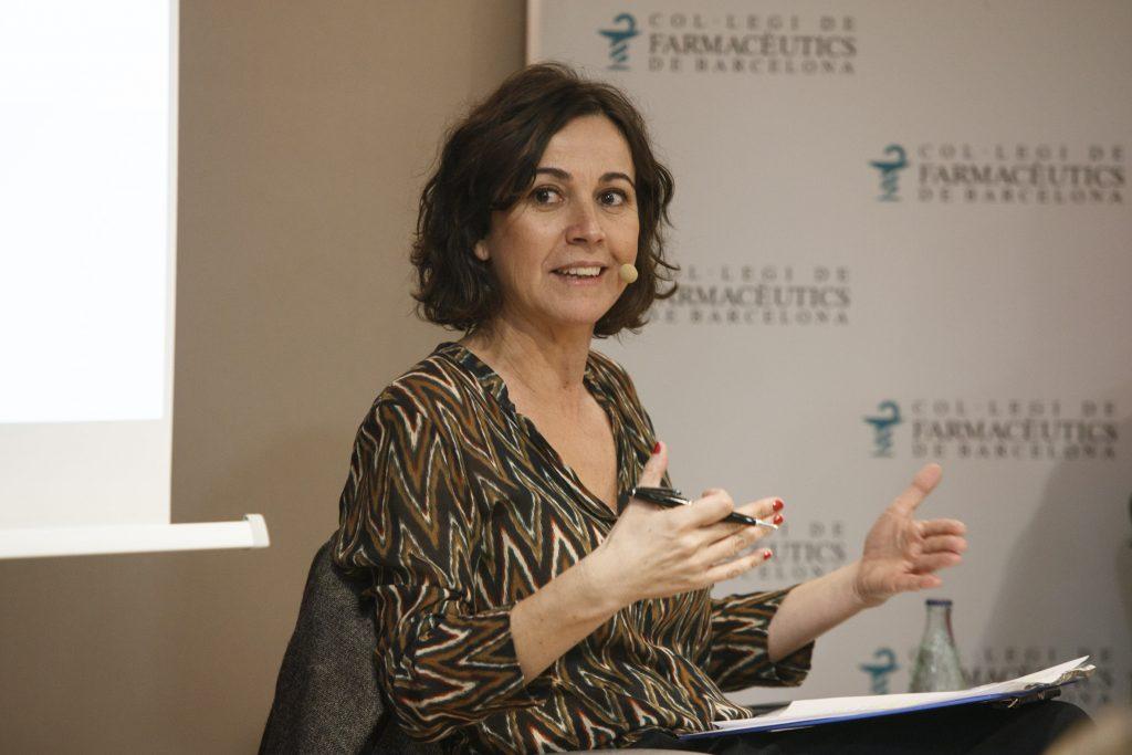 """La periodista Lídia Heredia, directora i presentadora del programa """"Els Matins de TV3""""."""