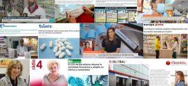 Maig: La farmàcia davant la COVID-19 i la represa de l'activitat formativa del COFB, temes més destacats als mitjans
