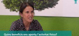"""Dra. Montserrat Bellver: """"Hem de fer activitat física. El sedentarisme té molts riscos, igual que el tabac o la hipertensió"""" [Vídeo entrevista]"""