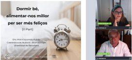 L'impacte de l'alimentació en la qualitat del son [Tertúlia d'actualitat]