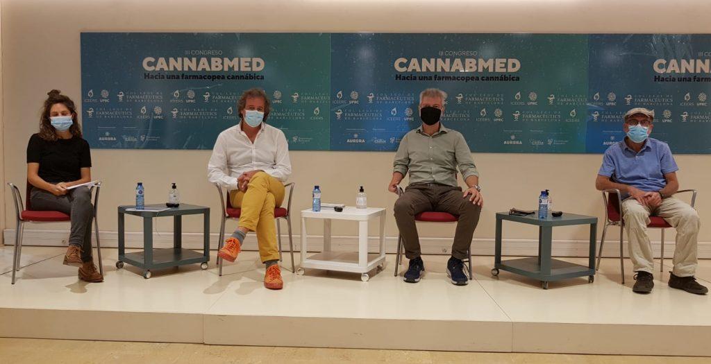 """Imatge de la taula II, que portava per títol """"Avenços científics sobre el potencial terapèutic del cànnabis i els seus derivats""""."""