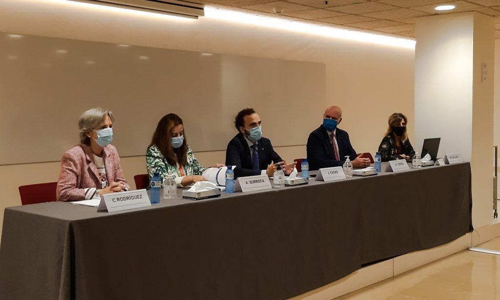 Jordi Casas, president del COFB, va donar la benvinguda als participants del MGOF